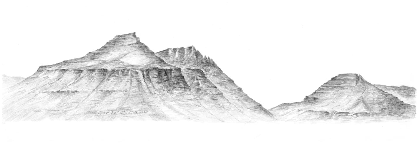 Seydisfjordur`s Circle of Mountains