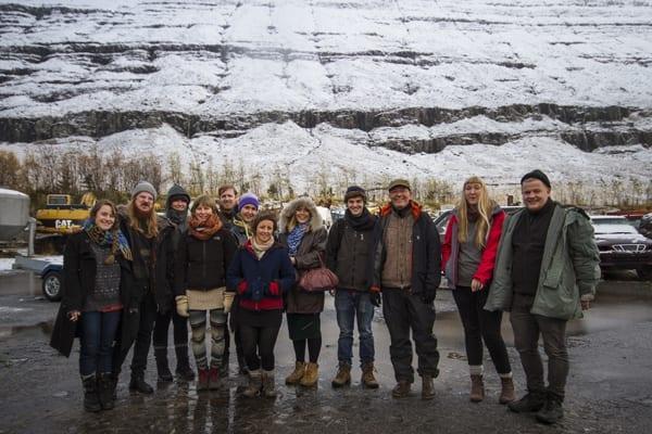 The fifteenth Art Academy student group has arrived in Seyðisfjörður