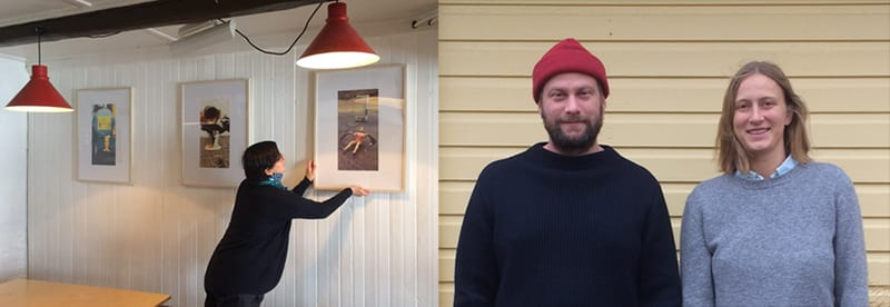 Dagar myrkurs listamannaspjall – Ioana Popovici, Michala Paludan, Rasmus Røhling