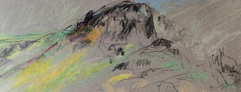 Svandís Egilsdóttir – Several Drawings of Mountains